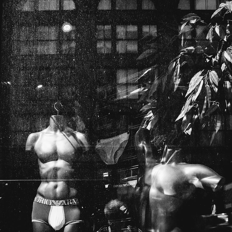 Mannequin Photograph - Dirty Mannequins by Dylan Murphy