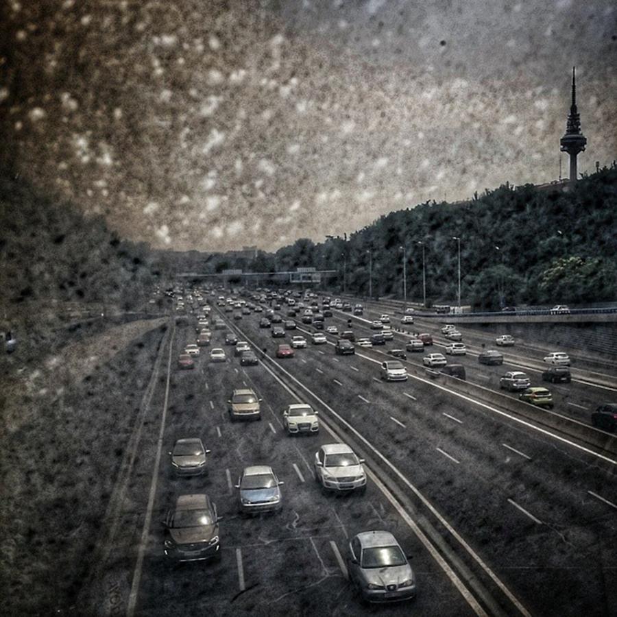 Pollution Photograph - Dirty Piruli #madrid #traffic #street by Rafa Rivas