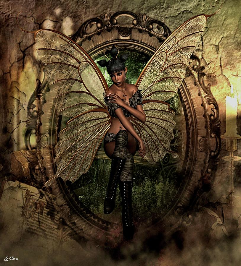 Cute Photograph - Disappointed Fairy 2 by G Berry