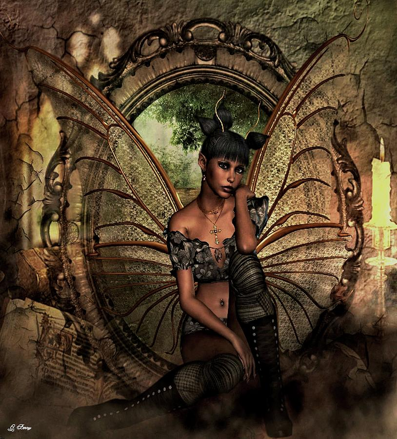 Disappointed Photograph - Disappointed Fairy by G Berry