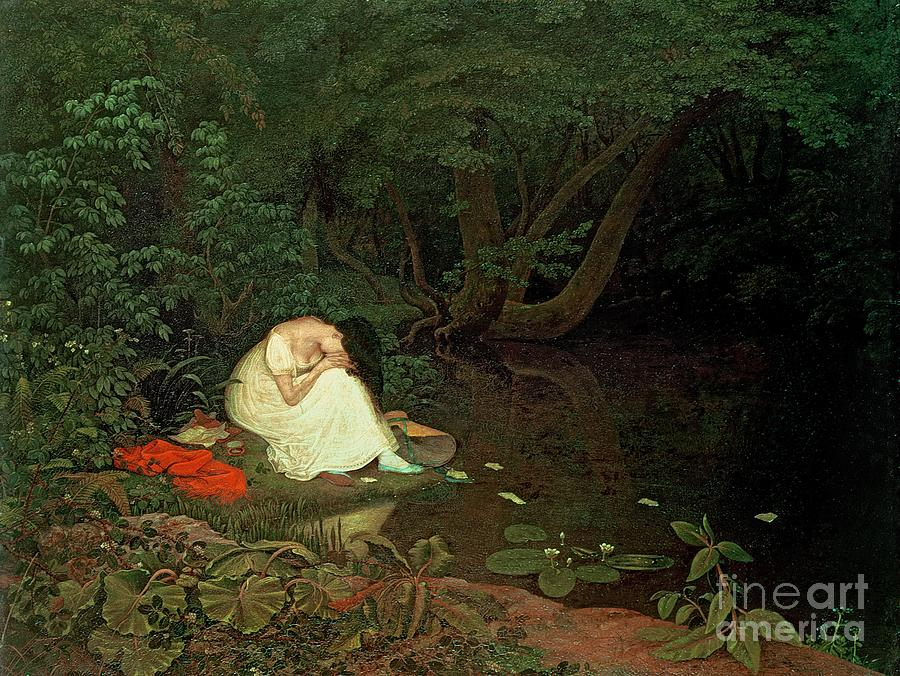 Disappointed Painting - Disappointed Love by Francis Danby