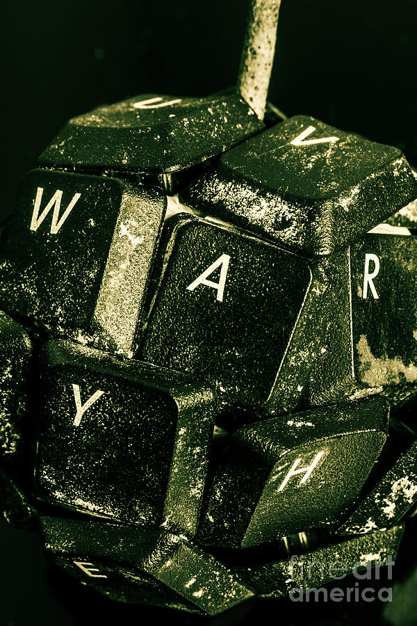 War Photograph - Disarming Of Weaponiised Words  by Jorgo Photography - Wall Art Gallery