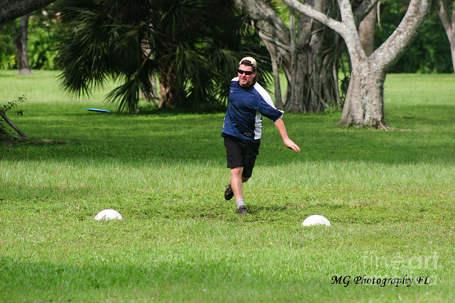 Disc Golf Photograph - Disc 1 by Marty Gayler