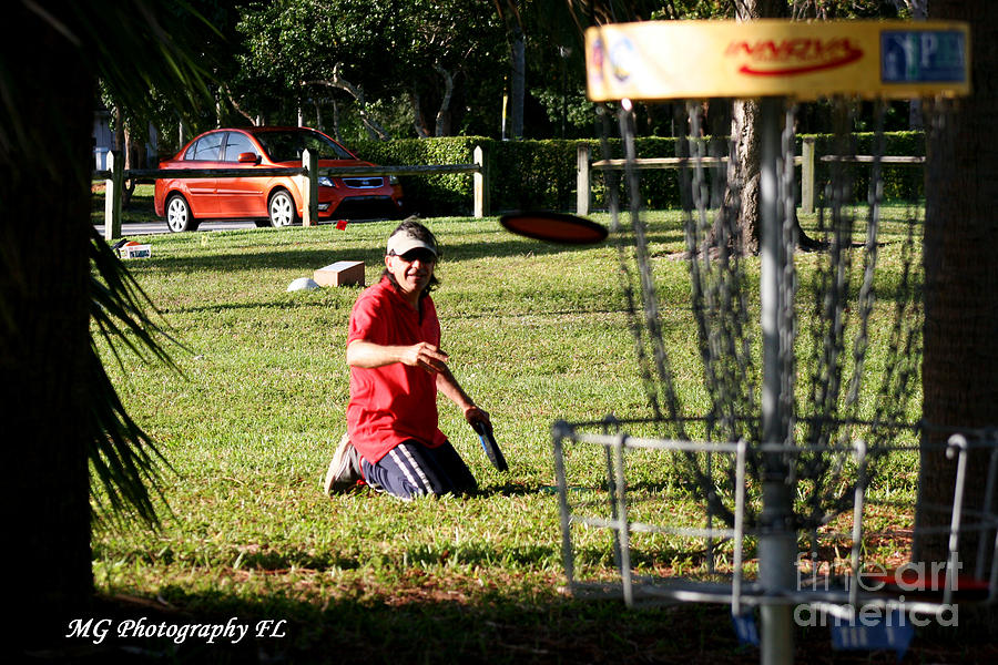 Disc Golf Photograph - Disc 3 by Marty Gayler