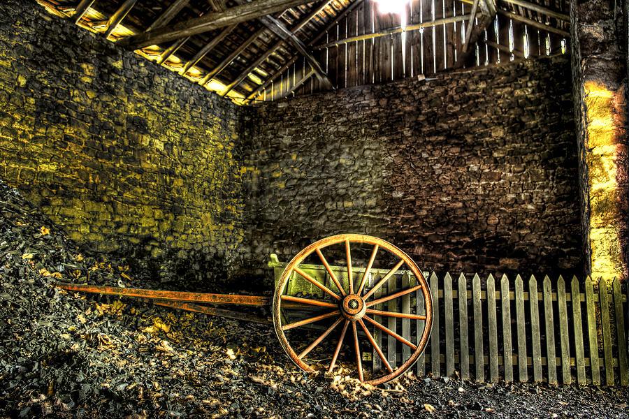 Farm Photograph - Discarded Cart by Scott Wyatt