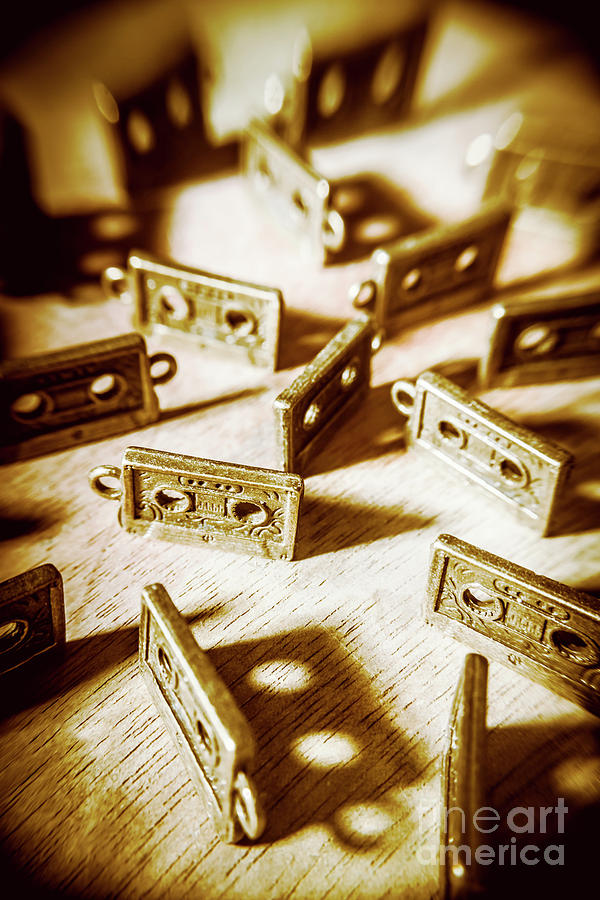 Eighties Photograph - Disco Dancing Cassettes by Jorgo Photography - Wall Art Gallery