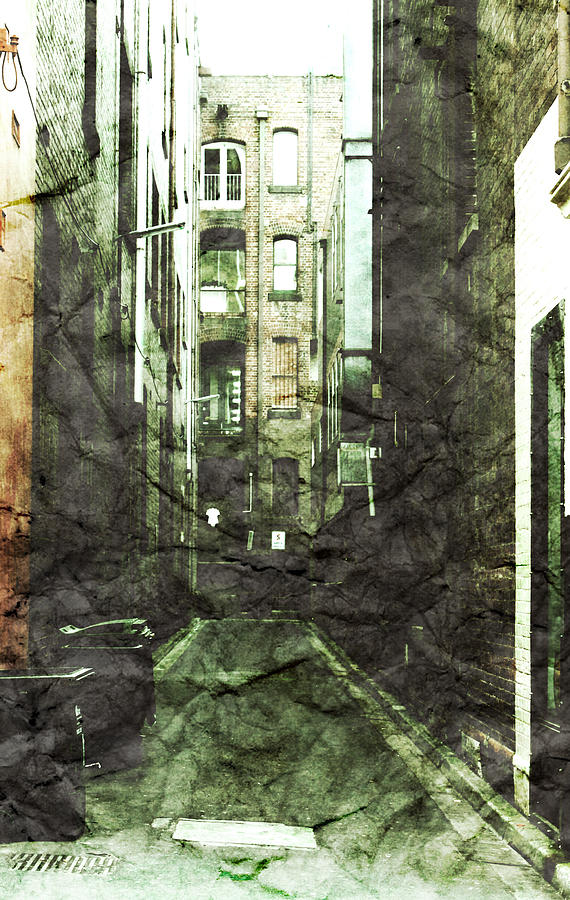 Alley Photograph - Discounted Memory by Andrew Paranavitana
