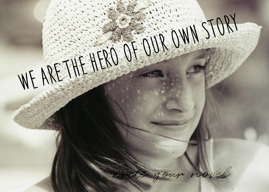 Child Photograph - Discover Yourself Quote by JAMART Photography