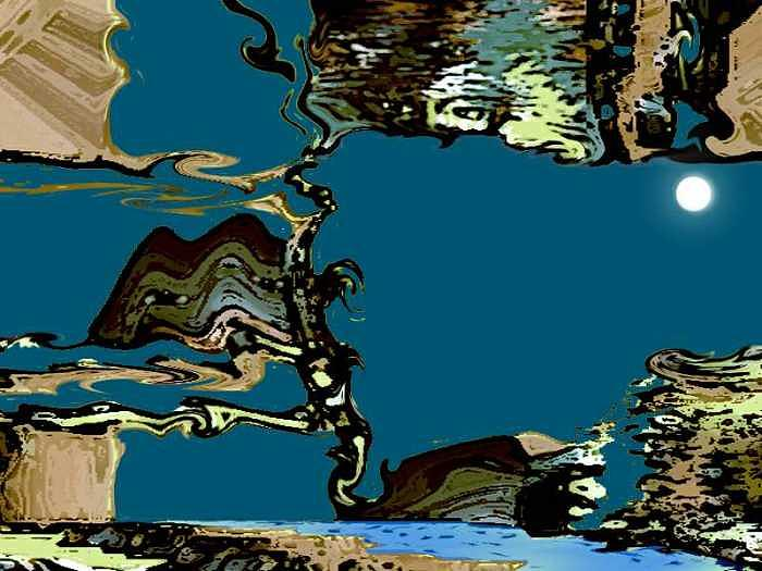 Digital Paint Digital Art - Discovery by Aline Pottier  Gama Duarte