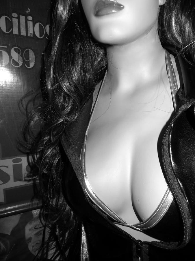 Girl Photograph - Discreet Lady 2  by Daniel Gomez