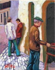 Portugal Painting - Discussion by Don Sibley