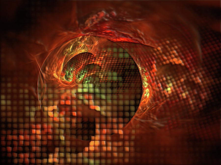 Abstract Digital Art - Disillusioned by Jeremy Nicholas