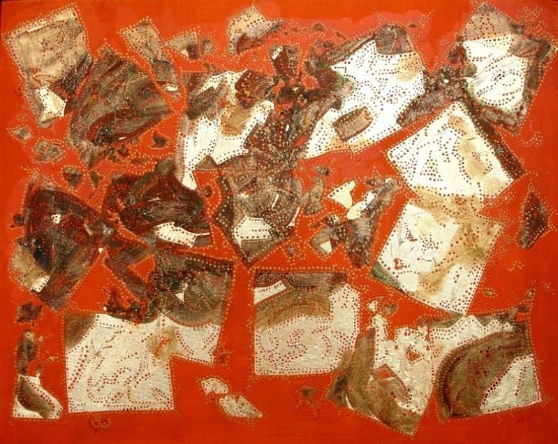 Disintegration Mixed Media by Cariya Breemen
