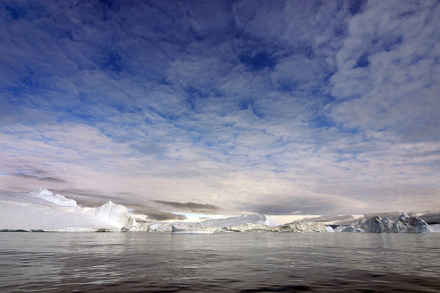 Greenland Photograph - Disko Fjord Greenland by Robert Lacy