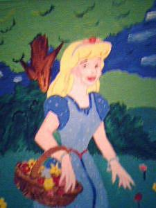 Disney Painting - Disney Princess 2 by Ayesha Barrow