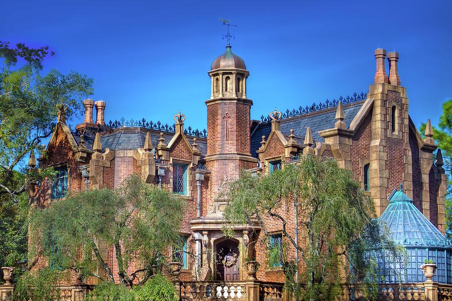 Disney World Haunted Mansion Photograph