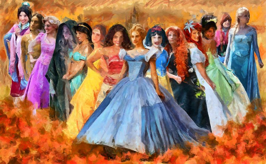 Disney's Princesses by Caito Junqueira