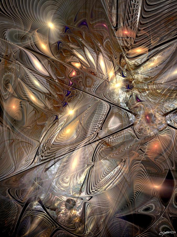 Abstract Digital Art - Disorderly Relativistic Interpretations by Casey Kotas