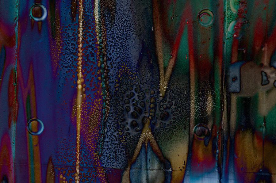 Abstract Photograph - Disrupted Graffiti by John Ricker