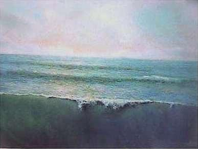 Tides Painting - Disruption Of The Cycle by Brian Higgins