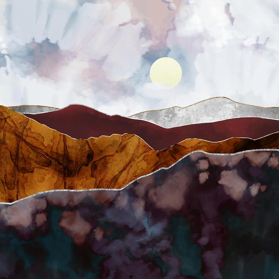 Light Digital Art - Distant Light by Katherine Smit