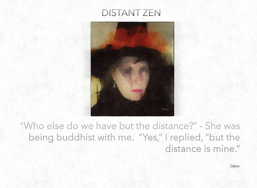 Zen Photograph - Distant Zen  by Steven Digman