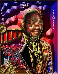 Portrait Digital Art - Distinguished by Booker Williams