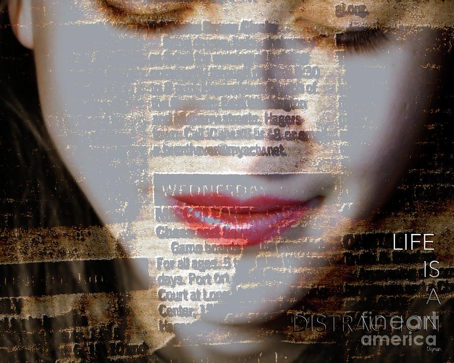 Women Photograph - Distraction  by Steven Digman