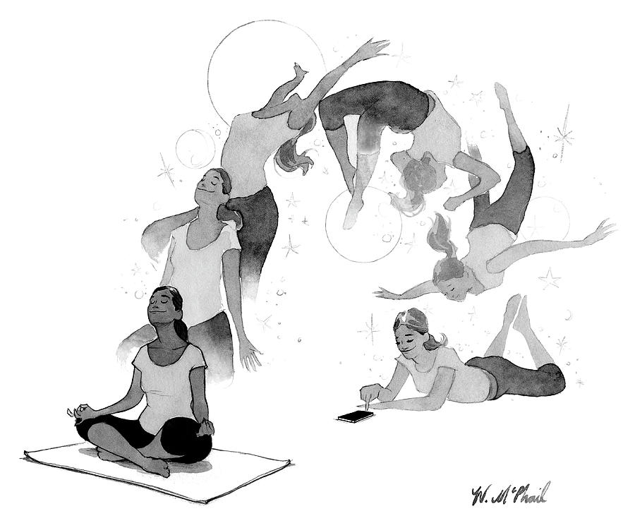 Distraction Drawing by Will McPhail