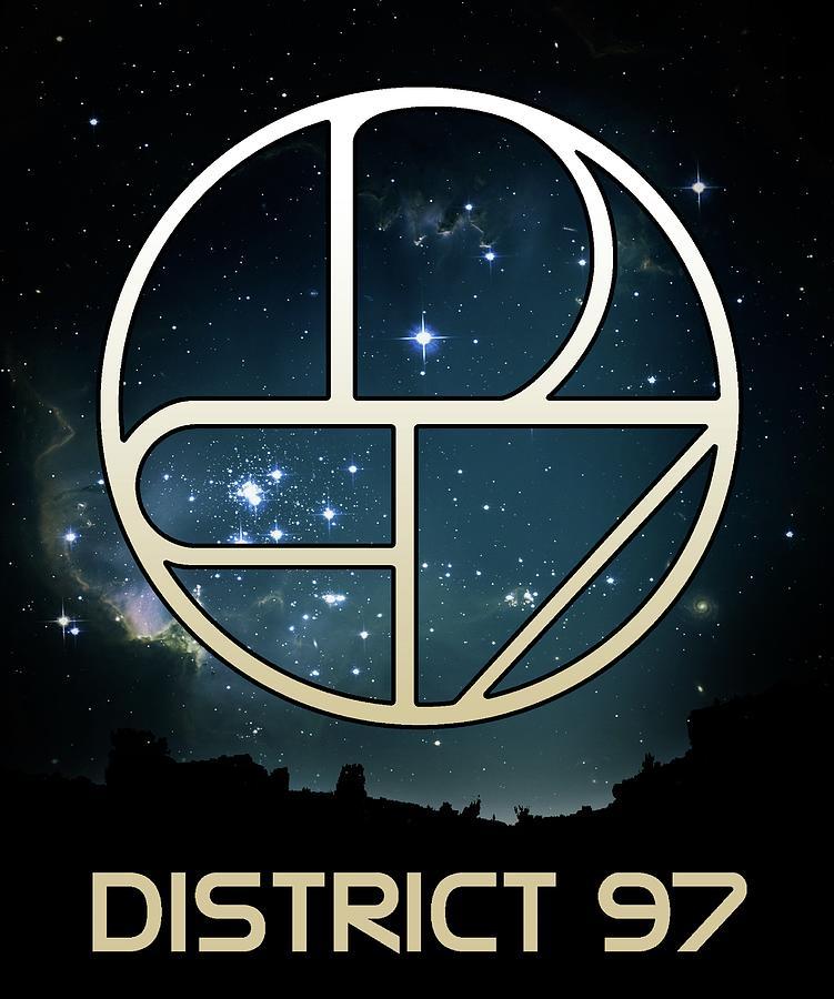 District 97 Logo Digital Art by District 97