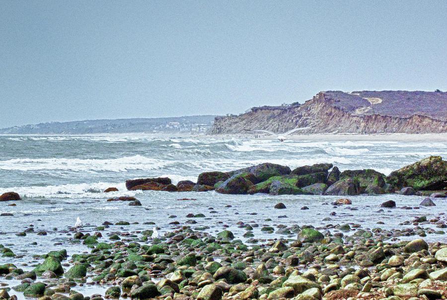 Ocean Photograph - Ditch Plains Long Island by Linda Pulvermacher