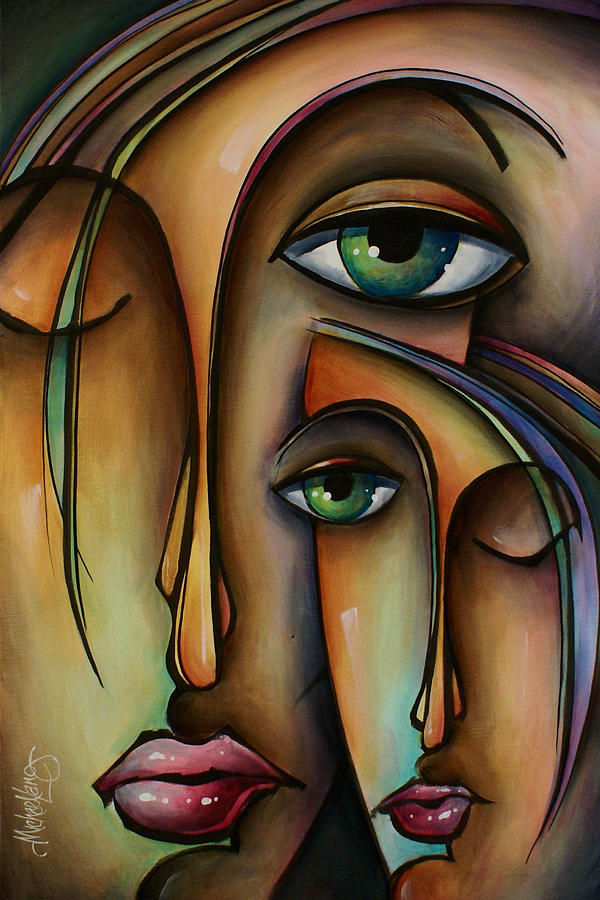 Figurative Painting - Ditto by Michael Lang