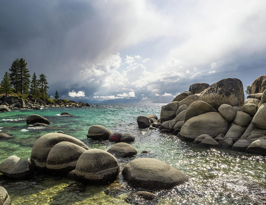 Diver's Cove storm by Martin Gollery