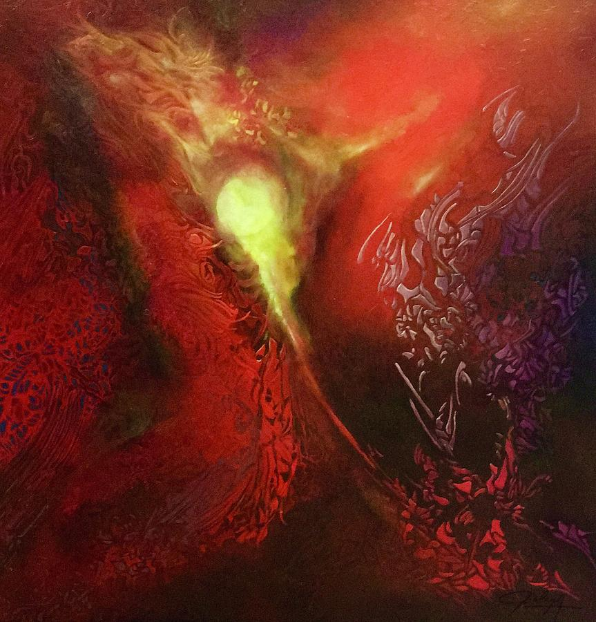 Rouge Painting - Diversion by Bielen Andre