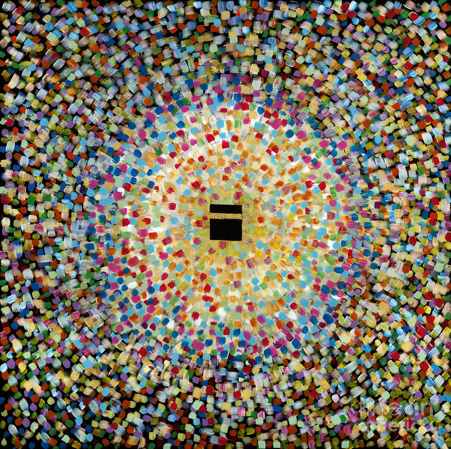 Contemporary Painting - Diversity - United colours of the Ummah by Siddiqa Juma