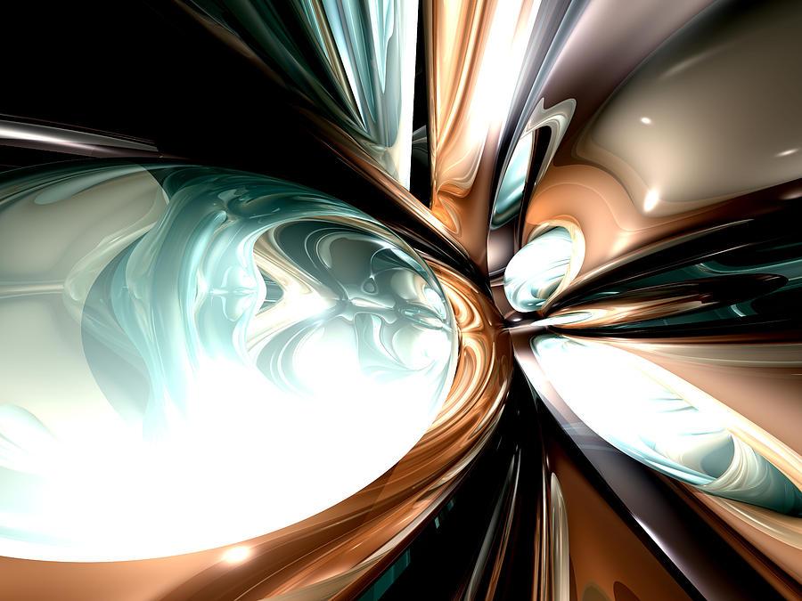 3d Digital Art - Divine Flavor Abstract by Alexander Butler