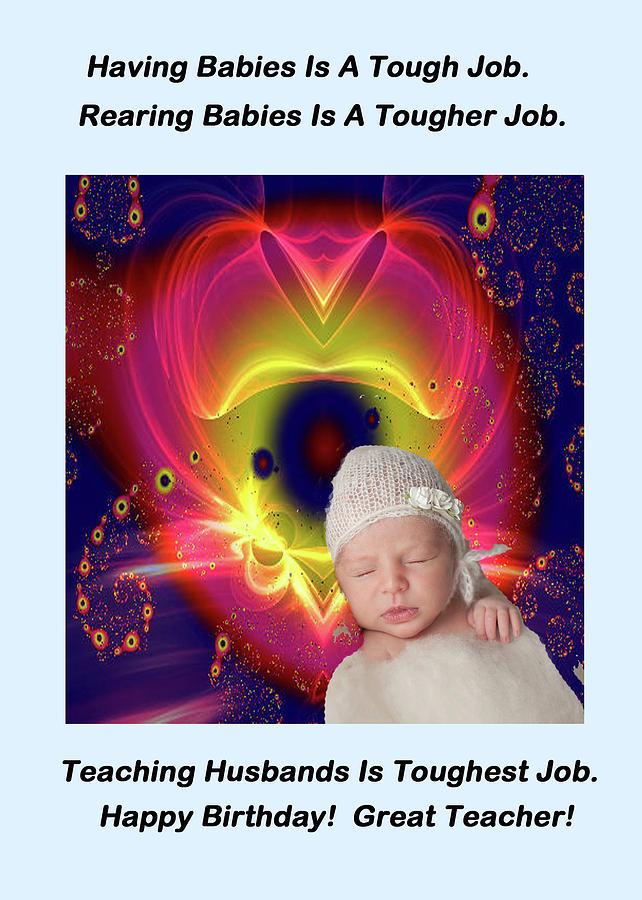 Adult Digital Art - Divine Heart/bigstock - 92883674 Baby by Mitchell Watrous