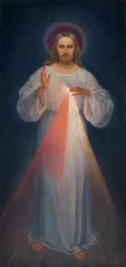 Divine Mercy Painting - Divine Mercy by Kazimierowski Eugene