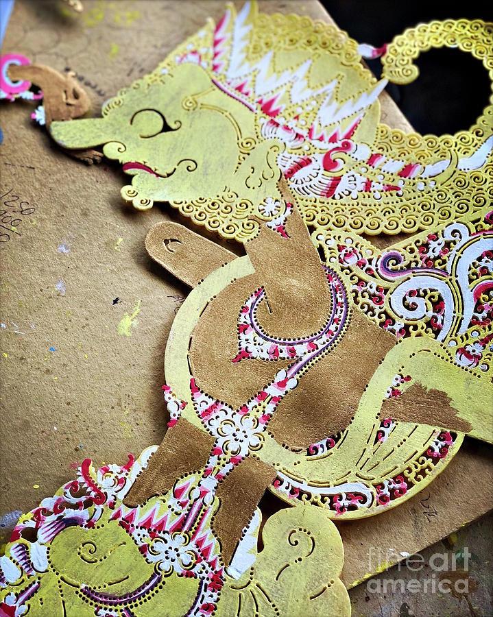 Craft Photograph - Divine Puppetry #3 by Edit Kalman
