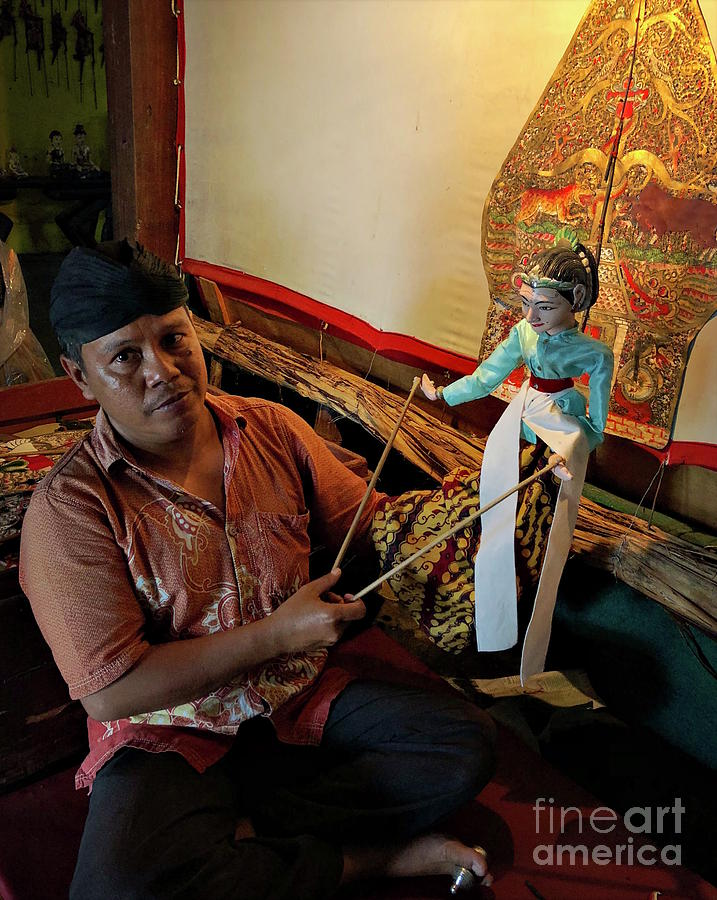 Craft Photograph - Divine Puppetry #8 by Edit Kalman