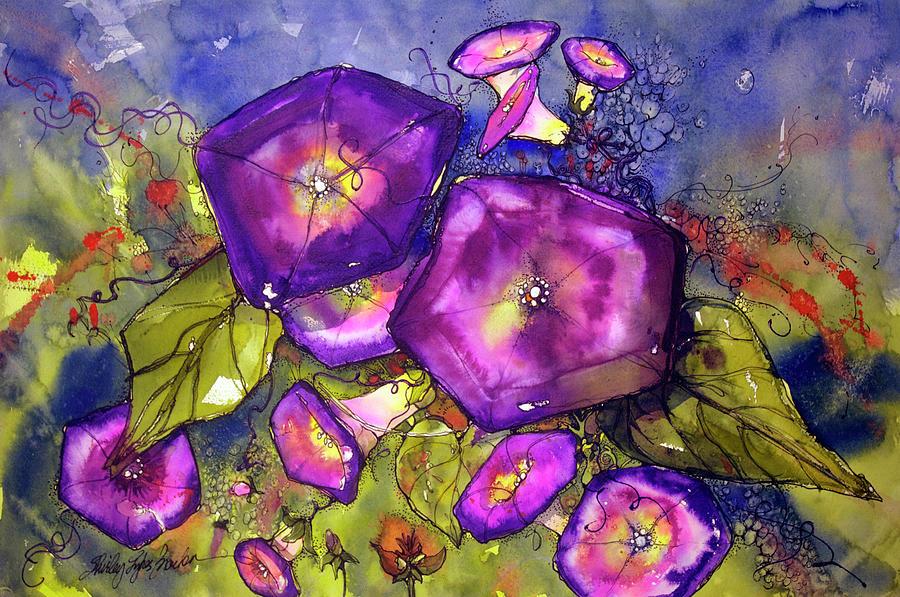 Divine Purple Painting