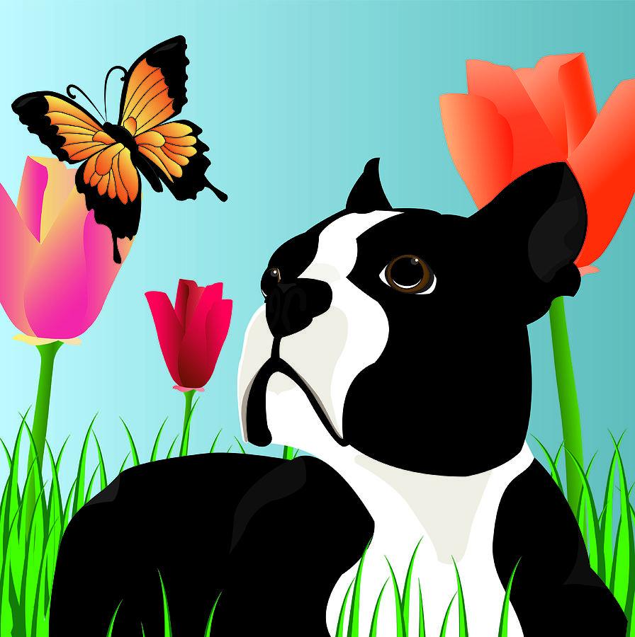 Dog Digital Art - Dixie by Kori Jones