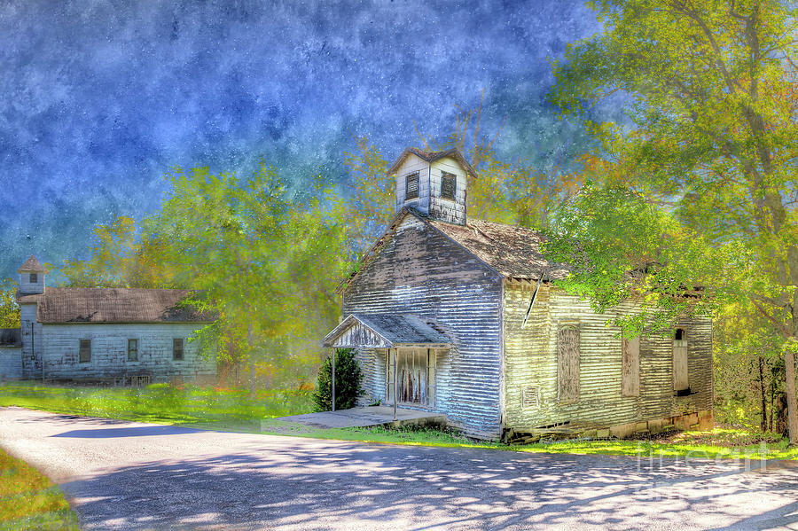 Horizontal Photograph - Dixon Springs Illlinois  by Larry Braun