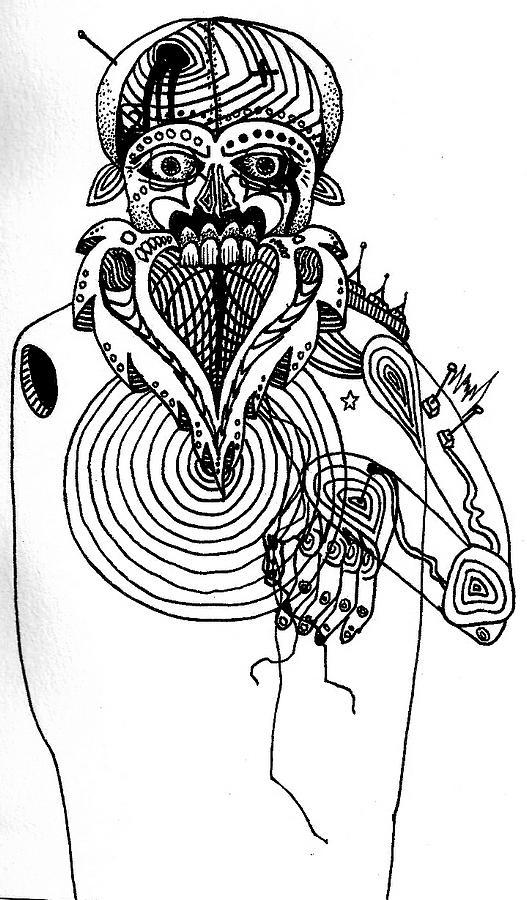 Drawing Drawing - DIY by John  Stidham