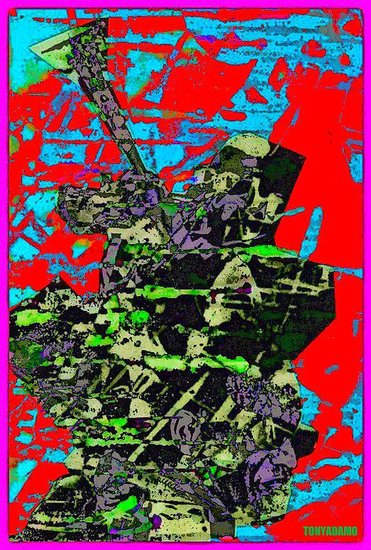 Diz And Ray Digital Art by Tony Adamo