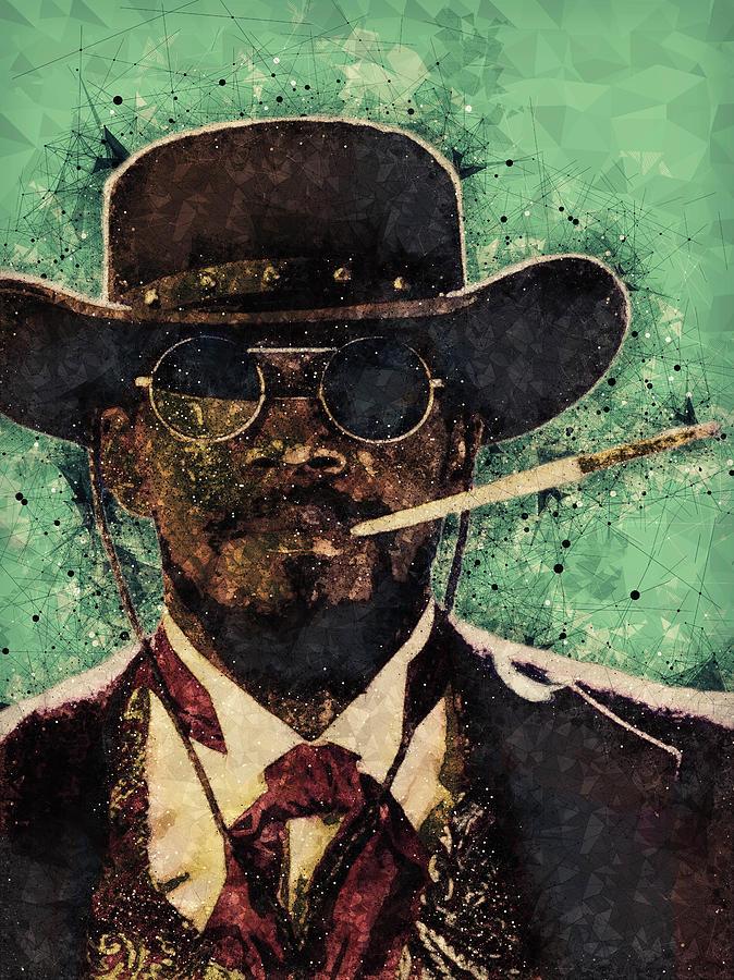 Django Unchained Mixed Media - Django Unchained  by Studio Grafiikka