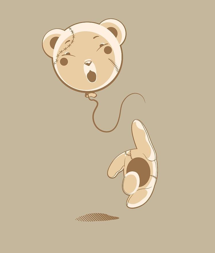 Bear Digital Art - Do Not Miss Head Ted by Jean Campos