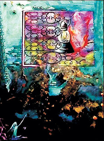 Do Not Suppress The Light Painting by Alireza Vataniman