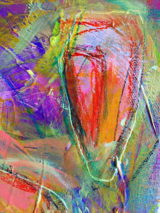 Color Painting - Do Over In Color 2 by Shelley Graham Turner