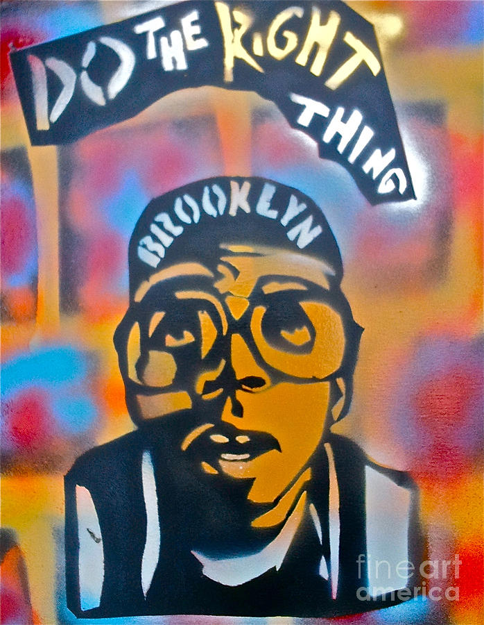 Spike Lee Painting - Do The Right Thing by Tony B Conscious